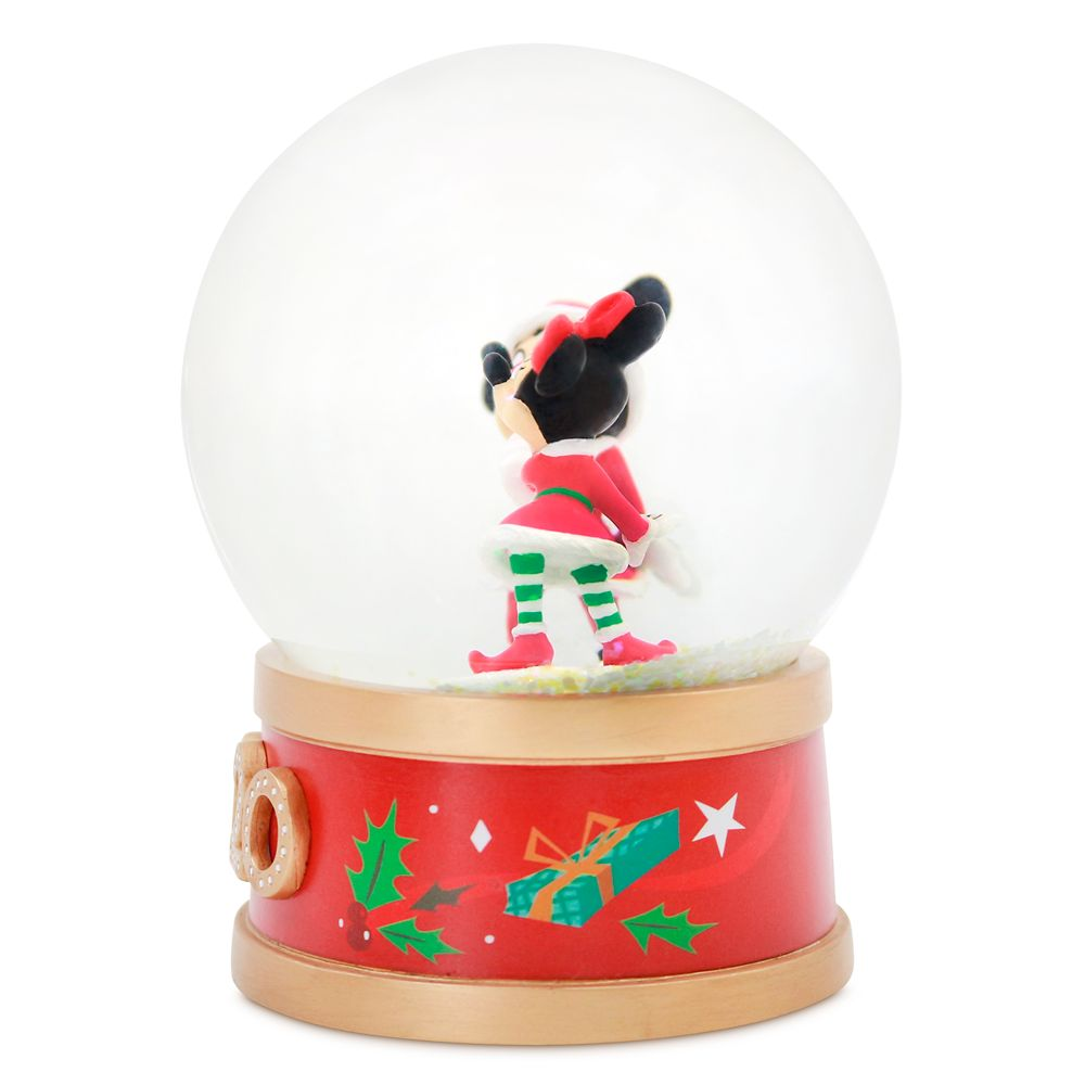 Mickey and Minnie Mouse Holiday Snowglobe 2020