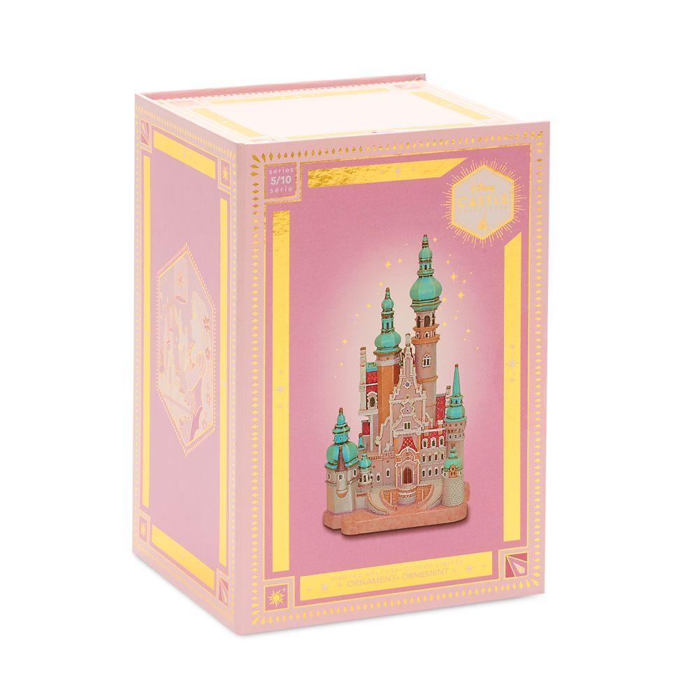 Disney Castle Collection Rapunzel Tangled Corona Castle Ornament SHIPS NOW