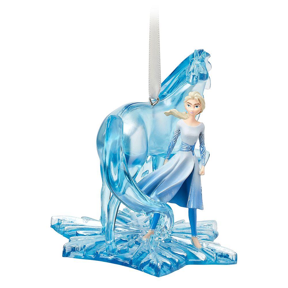 Elsa and Nokk Fairytale Moments Sketchbook Ornament – Frozen 2