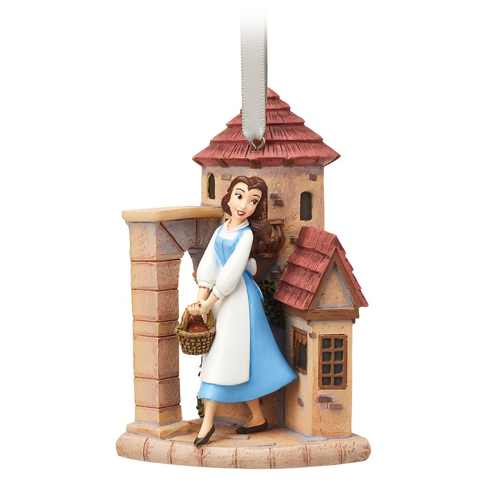 Belle Fairytale Moments Sketchbook Ornament – Beauty and the Beast
