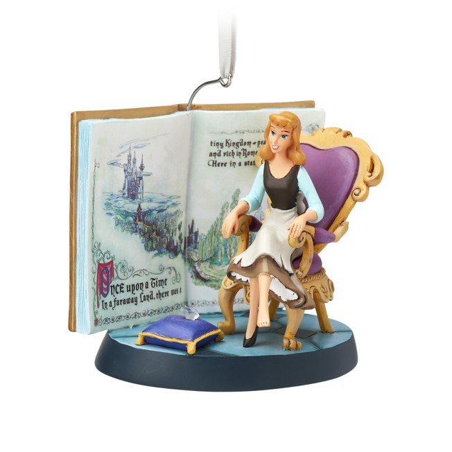 Cinderella Fairytale Moments Sketchbook Ornament