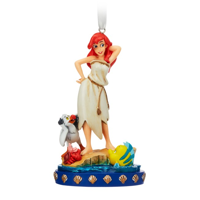 Ariel and Friends Fairytale Moments Sketchbook Ornament – The Little Mermaid