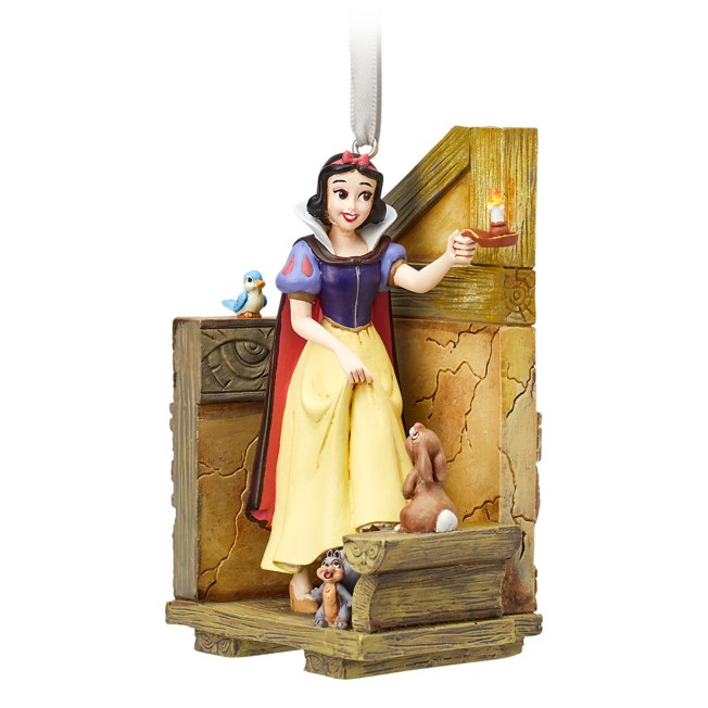 Snow White Fairytale Moments Sketchbook Ornament
