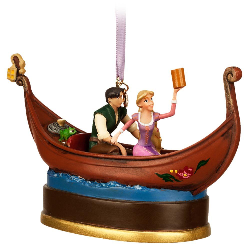 Rapunzel&Flynn Rider Singing Living Magic Sketchbook Ornament – Tangled