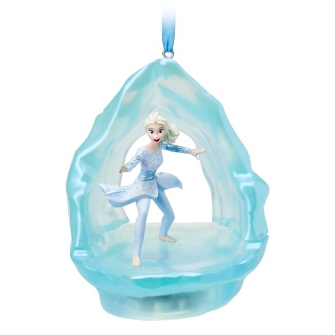Elsa Singing Living Magic Sketchbook Ornament – Frozen 2
