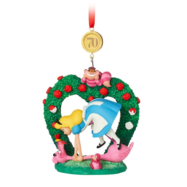 Alice in Wonderland Legacy Sketchbook Ornament – 70th Anniversary – Limited Release