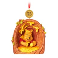 Winnie the Pooh and the Honey Tree Legacy Sketchbook Ornament – 55th Anniversary – Limited Release