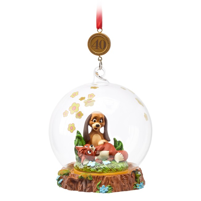 The Fox and the Hound Legacy Sketchbook Ornament – 40th Anniversary – Limited Release