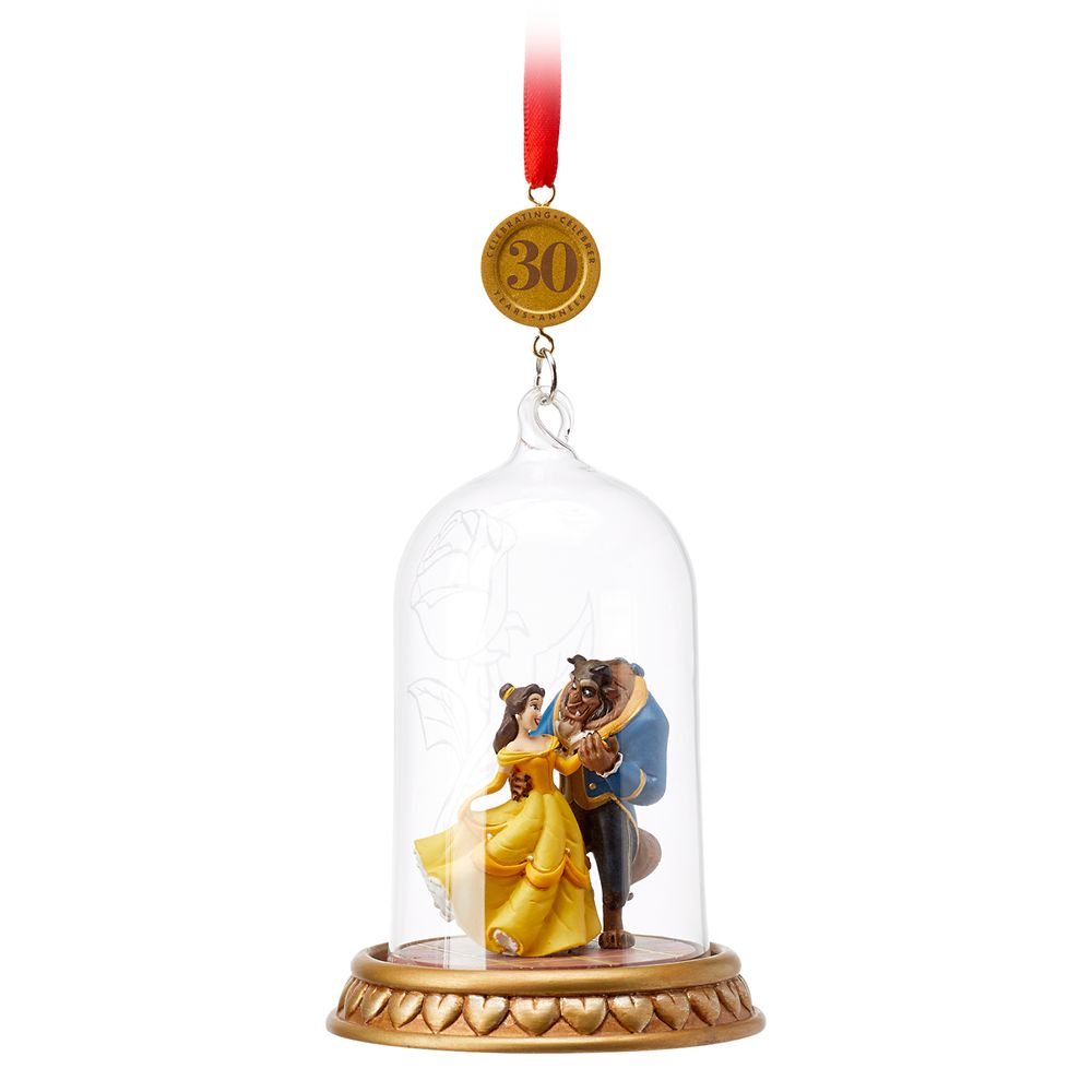 Beauty and the Beast Legacy Sketchbook Ornament – 30th Anniversary – Limited Release