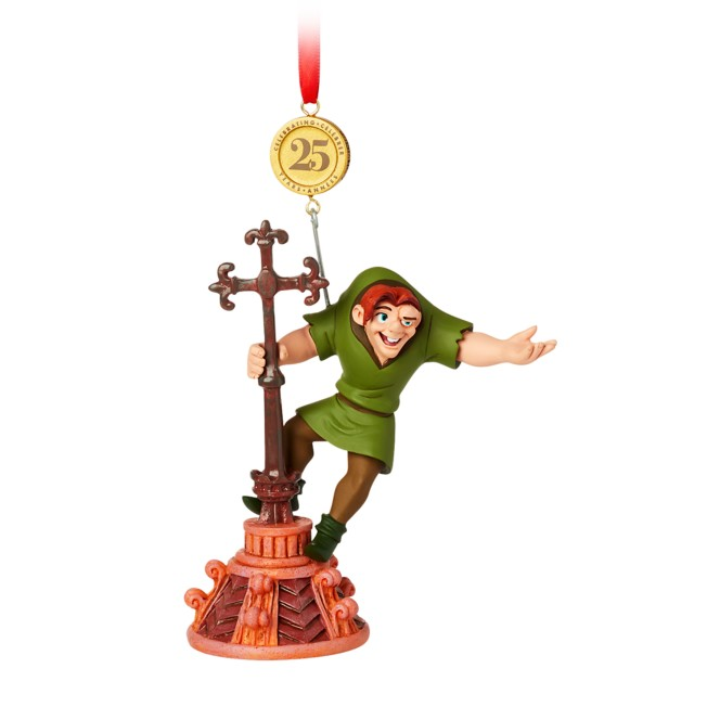 The Hunchback of Notre Dame Legacy Sketchbook Ornament – 25th Anniversary – Limited Release
