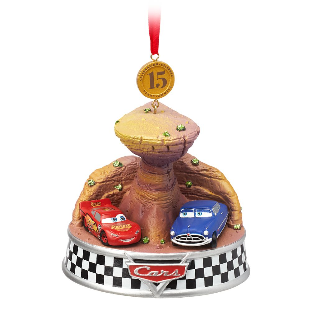 Cars Legacy Sketchbook Ornament – 15th Anniversary – Limited Release