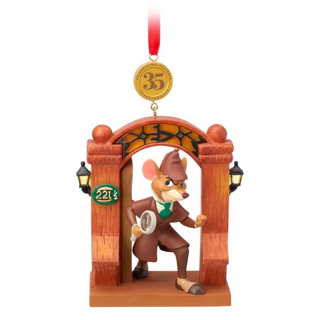 The Great Mouse Detective Legacy Sketchbook Ornament – 35th Anniversary – Limited Release