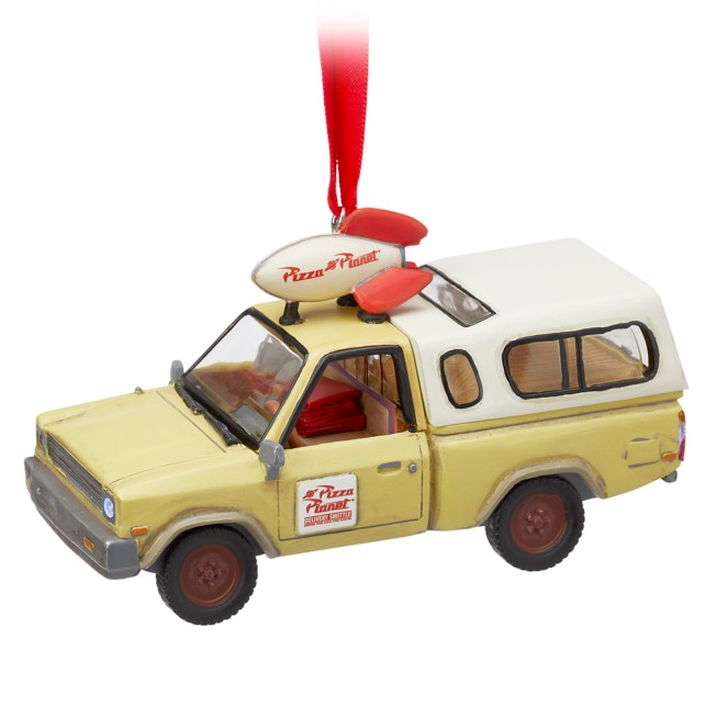 Pizza Planet Delivery Truck Light-Up Living Magic Sketchbook Ornament – Toy Story