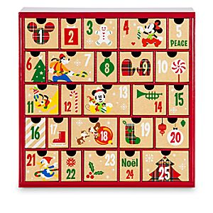 Mickey Mouse and Friends Advent Calendar Gift Drawers 2016