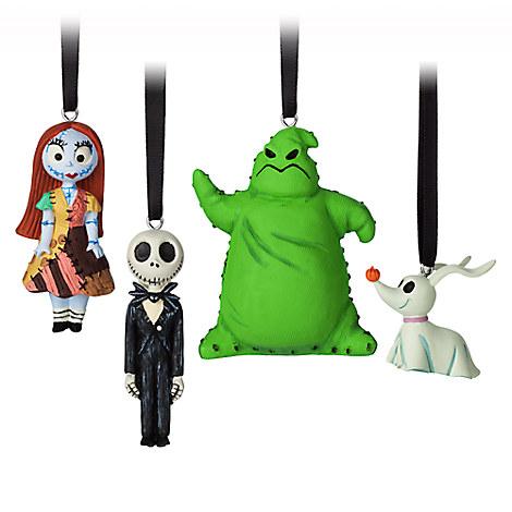 Tim Burton's The Nightmare Before Christmas Sketchbook Mini Ornament Set
