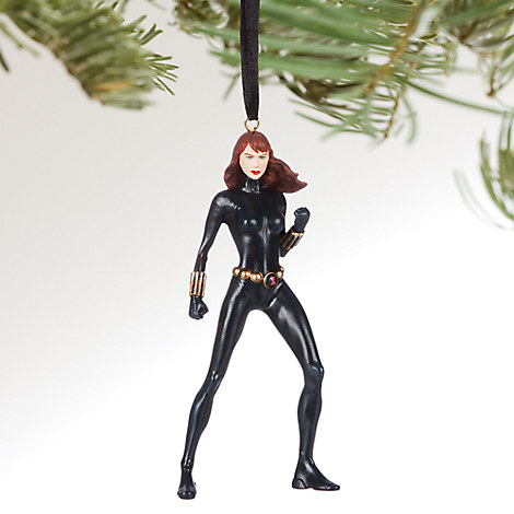 Black Widow Sketchbook Ornament - Personalizable