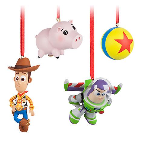 Toy Story Sketchbook Minis Ornament Set