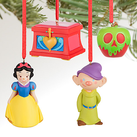 Snow White and the Seven Dwarfs Sketchbook Minis Ornament Set