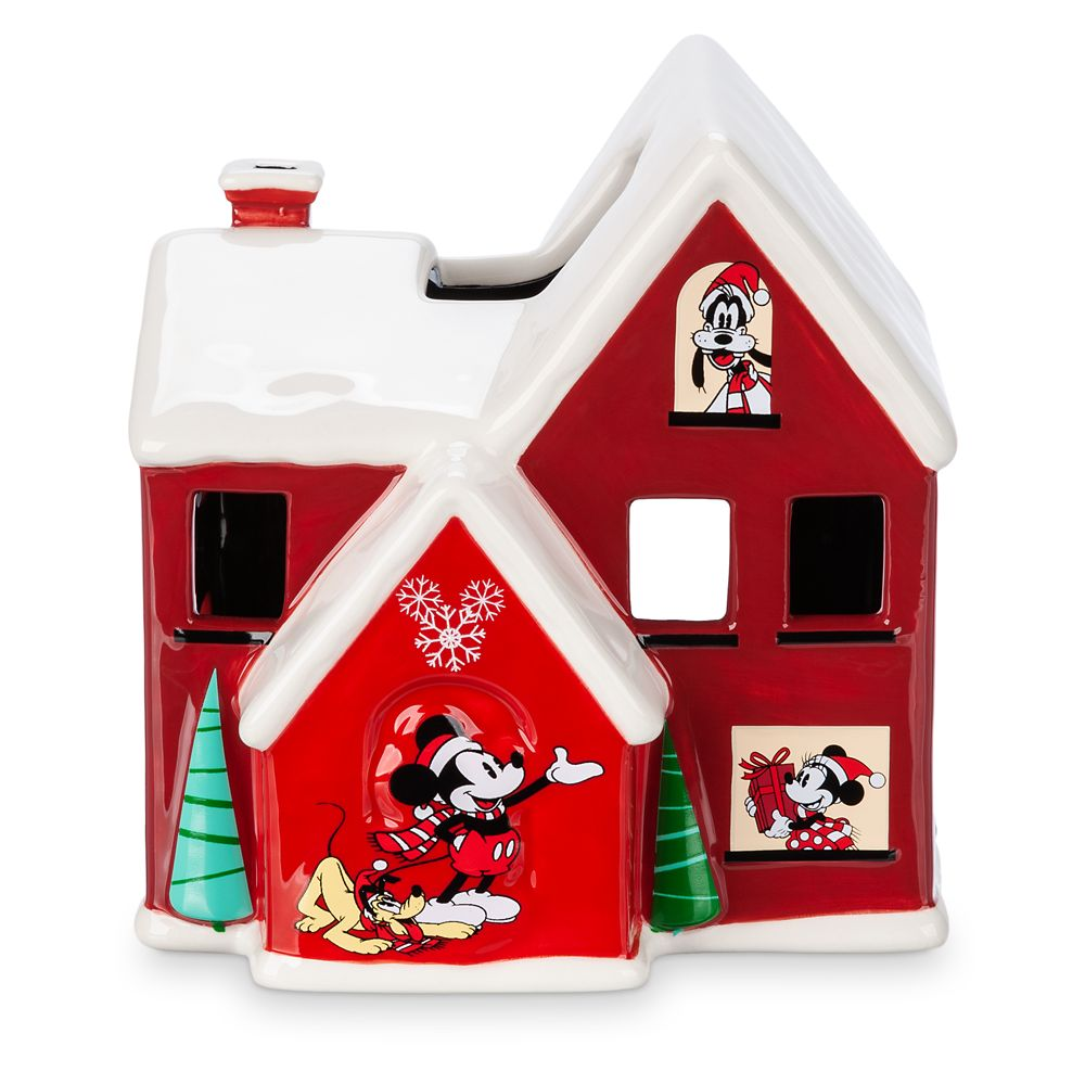 Mickey Mouse and Friends Holiday Votive Candle Holder