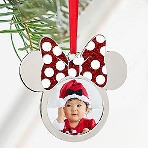 Minnie Mouse Icon Photo Frame Sketchbook Ornament - Personalizable