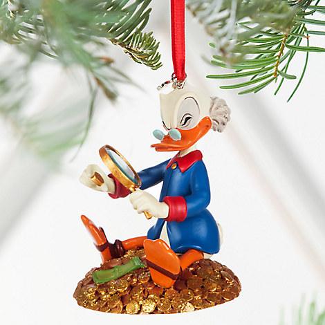 Scrooge McDuck Sketchbook Ornament - Personalizable