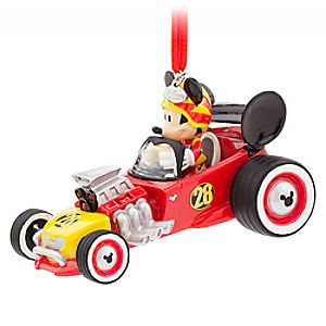 Mickey and the Roadster Racers Sketchbook Ornament