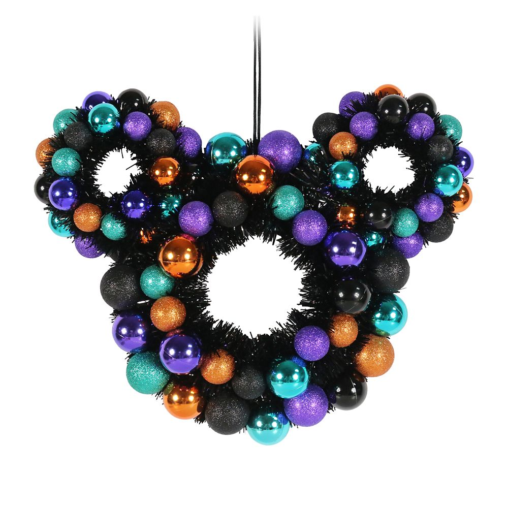 Mickey Mouse Icon Halloween Wreath