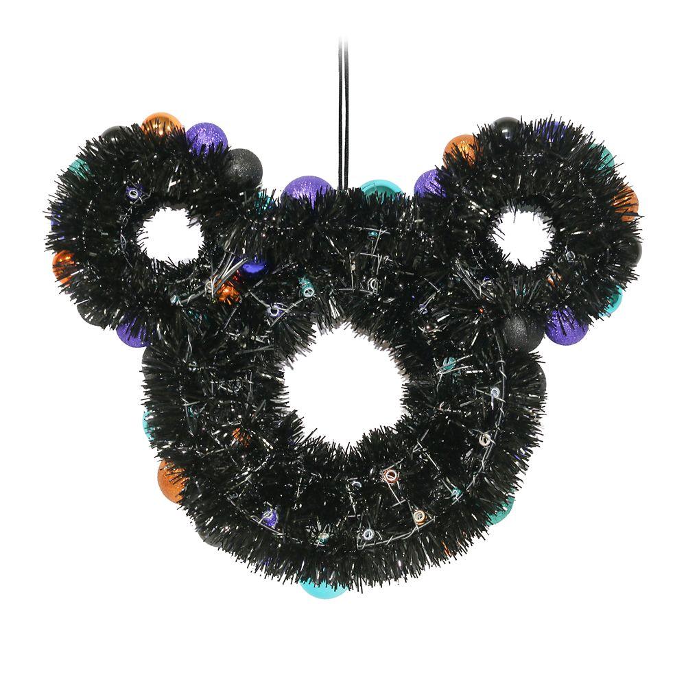 Mickey Mouse Icon Halloween Wreath Shopdisney