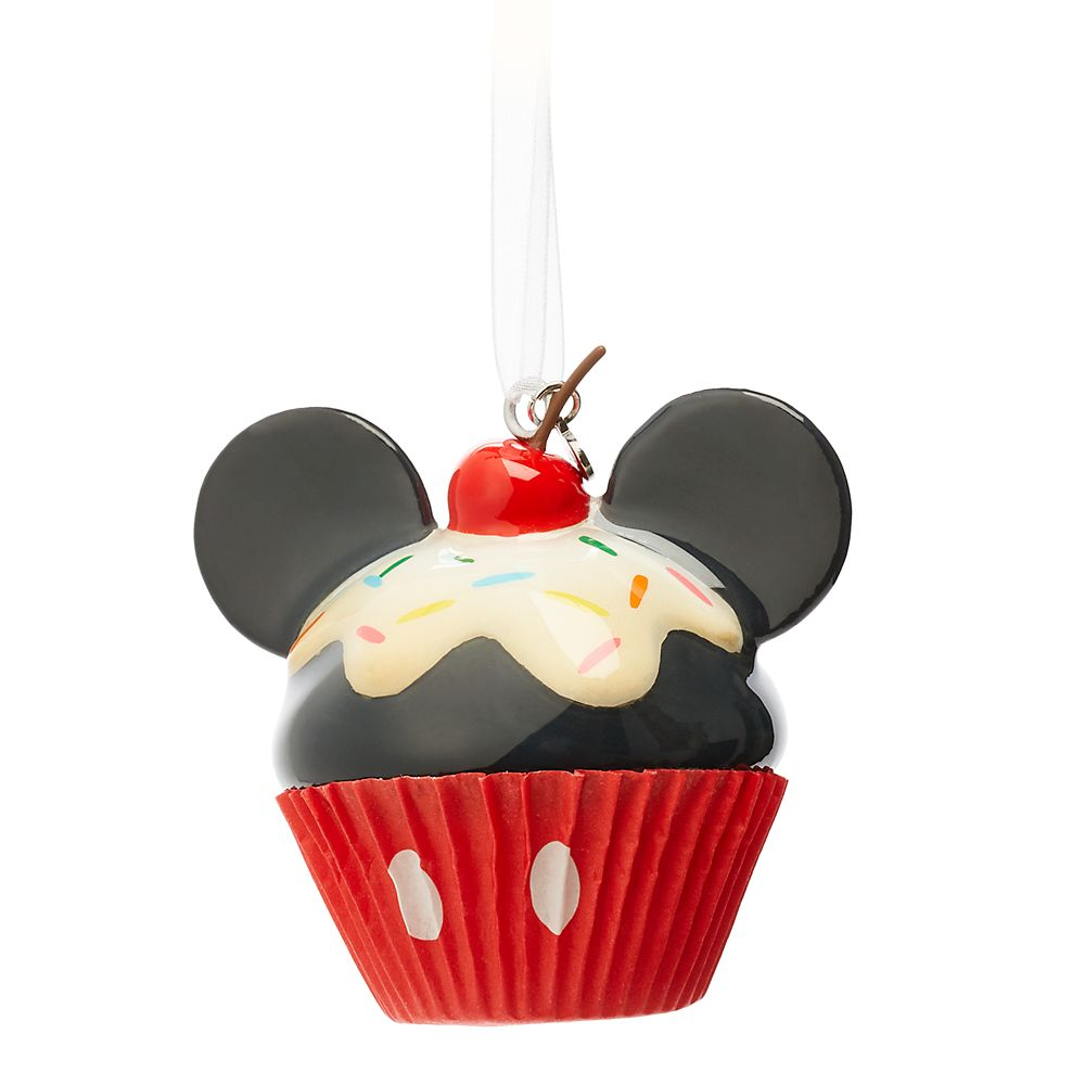 Mickey Mouse Cupcake Sketchbook Ornament Official shopDisney