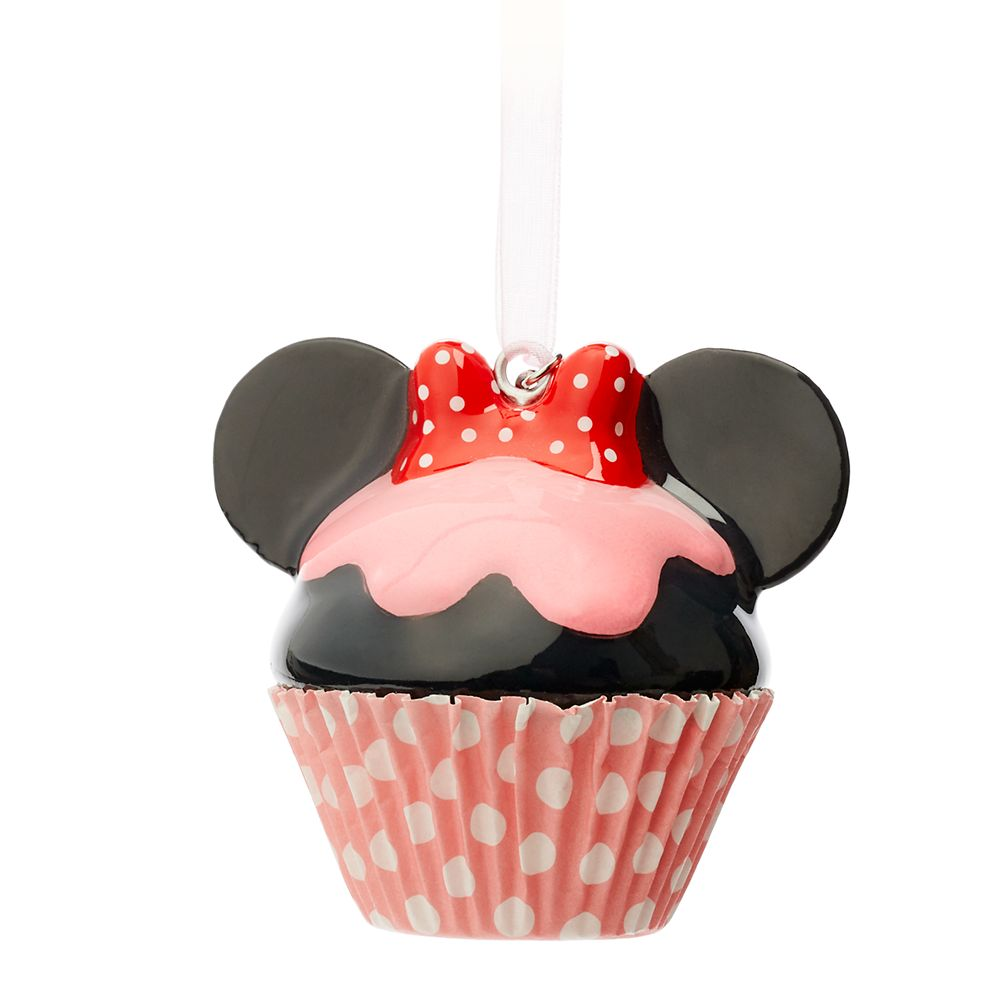 Minnie Mouse Cupcake Sketchbook Ornament