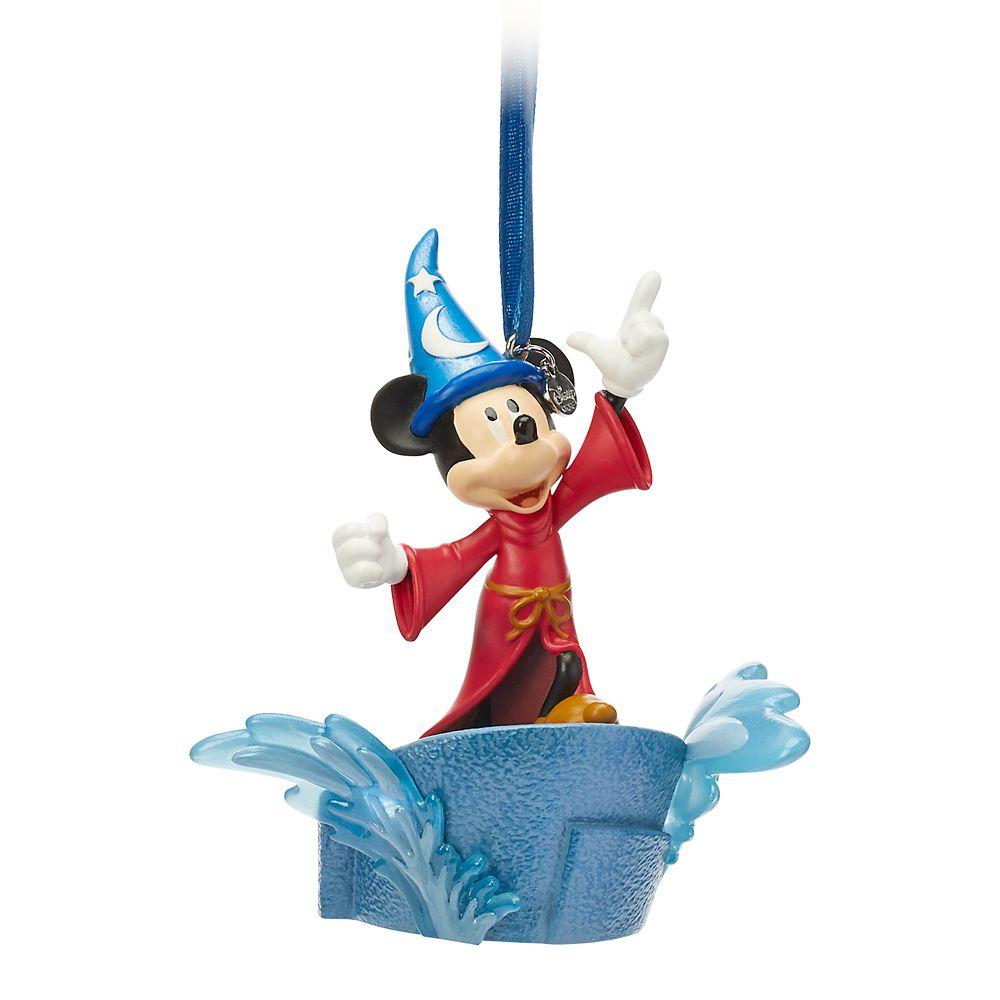 Sorcerer Mickey Mouse Light Up Living Magic Sketchbook Ornament  Fantasia Official shopDisney