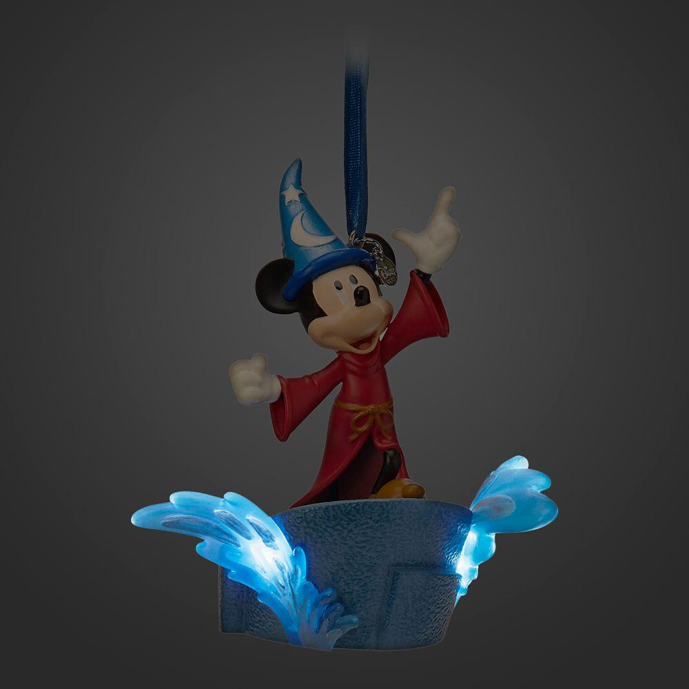 Sorcerer Mickey Mouse Light Up Living Magic Sketchbook Ornament – Fantasia
