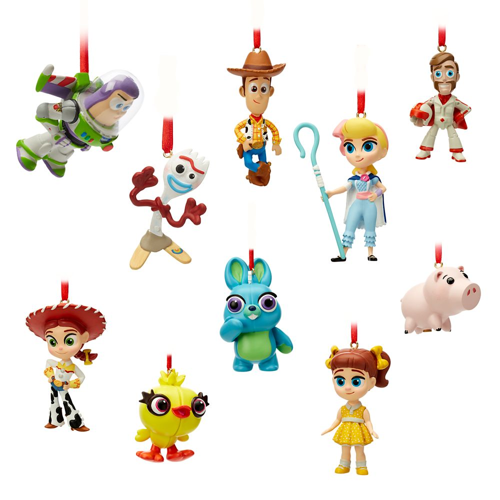 Toy Story 4 Mini Ornaments Set