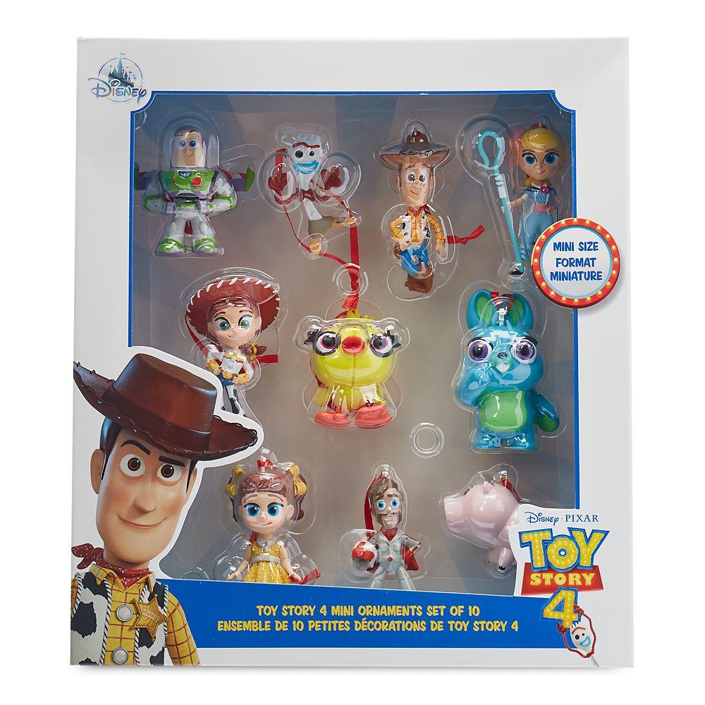 Toy Story 4 Mini Ornaments Set