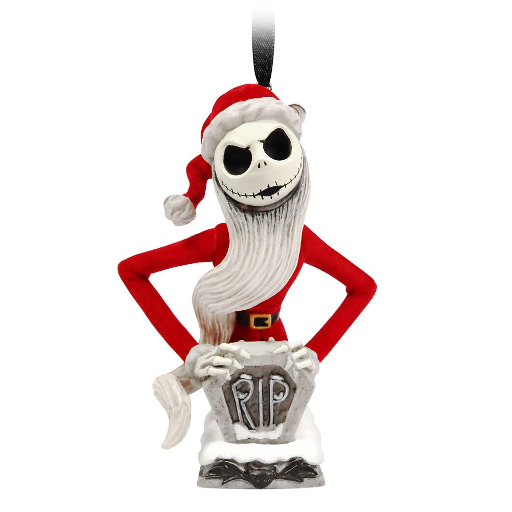 Jack Skellington as Sandy Claws Sketchbook Ornament – The Nightmare Before Christmas