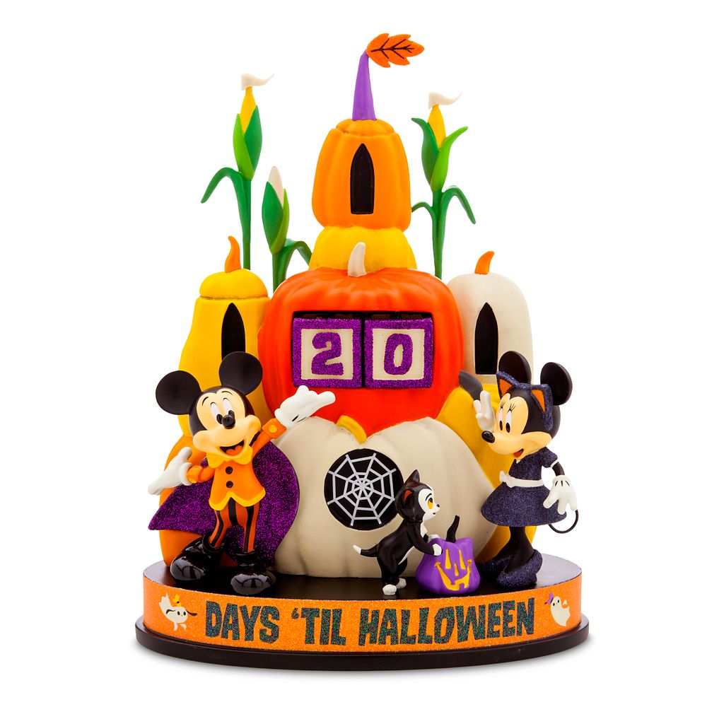 Mickey and Minnie Mouse Halloween Countdown Calendar Official shopDisney