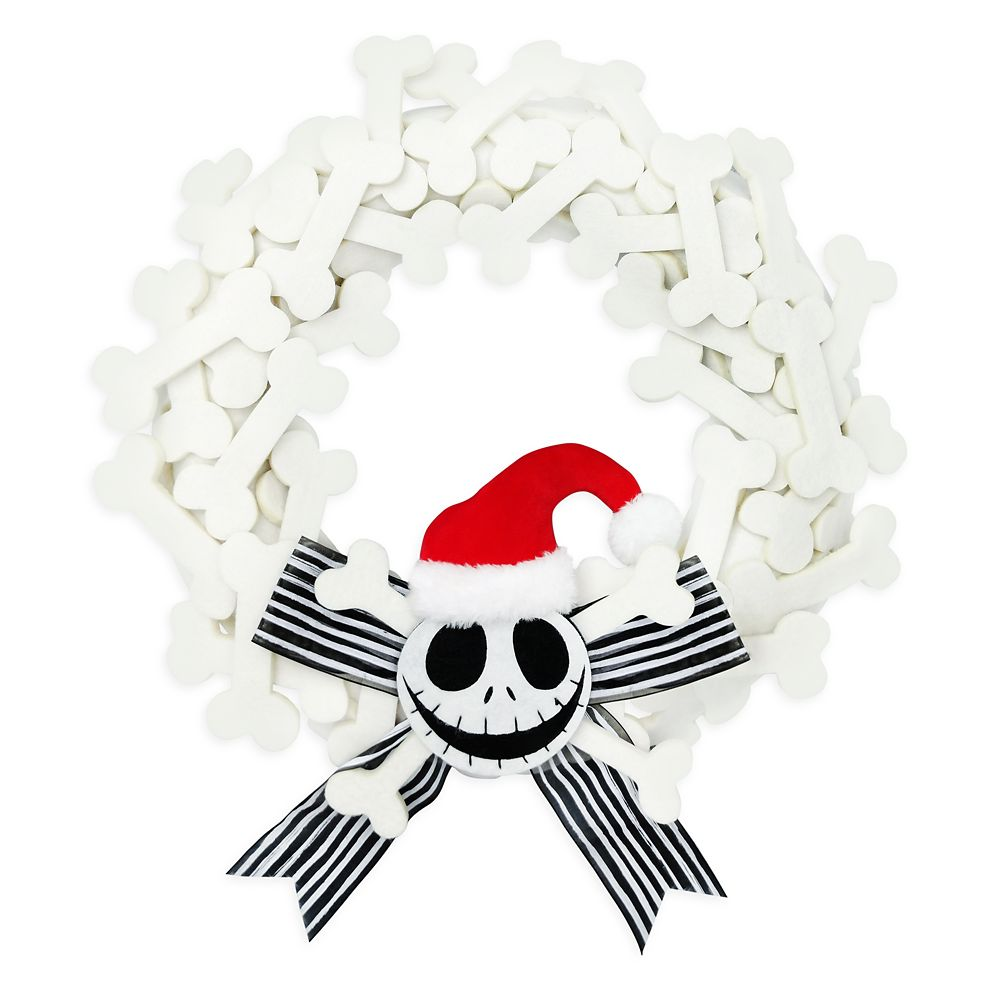 Jack Skellington Holiday Wreath