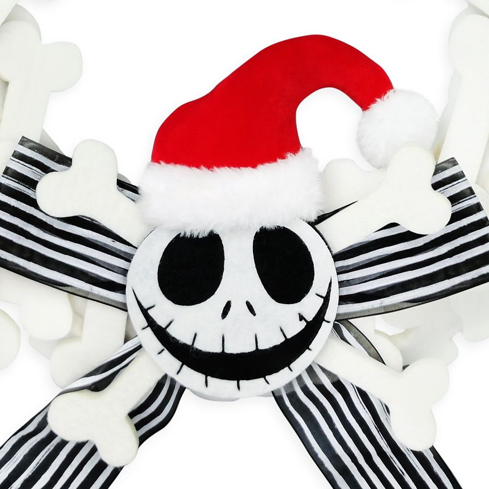 Jack Skellington Holiday Wreath – The Nightmare Before Christmas