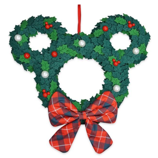 Mickey Mouse Icon Felt Wreath