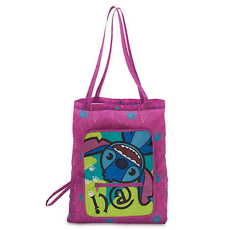 Stitch MXYZ Foldable Nylon Bag