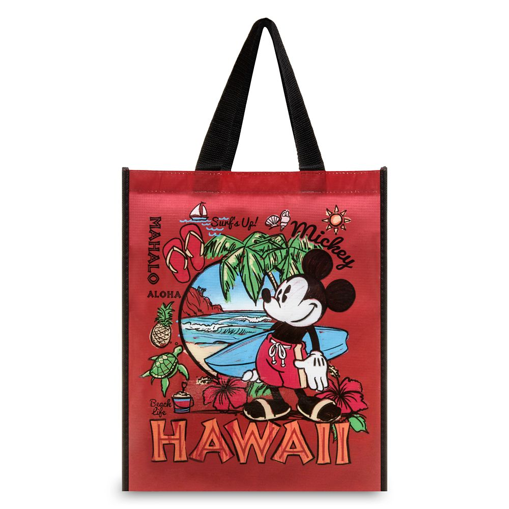 Mickey Mouse Reusable Tote  Hawaii Official shopDisney