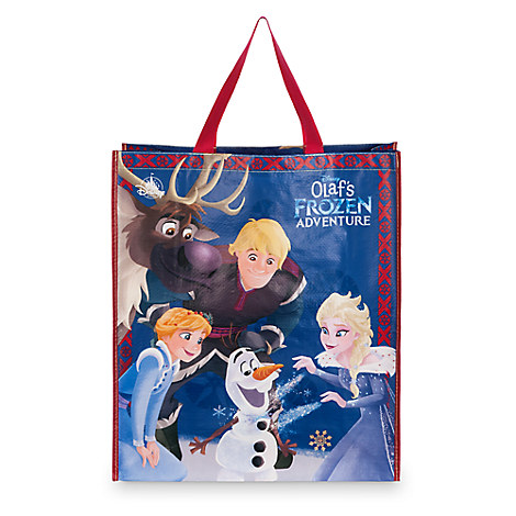 Olaf's Frozen Adventure Reusable Tote - Large