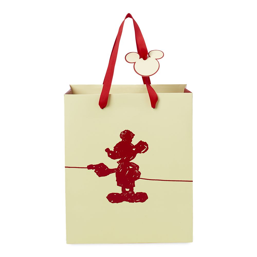 Mickey Mouse Silhouette Deluxe Gift Bag – Small