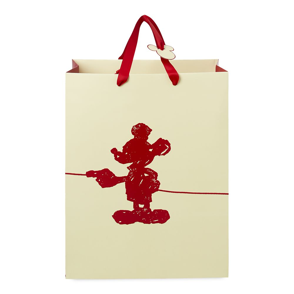 Mickey Mouse Silhouette Deluxe Gift Bag – Medium