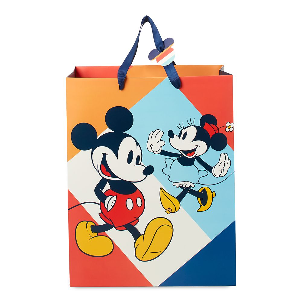Mickey and Minnie Mouse Deluxe Gift Bag – Medium