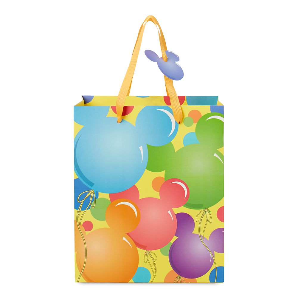 Mickey Mouse Icon Balloons Deluxe Gift Bag – Small