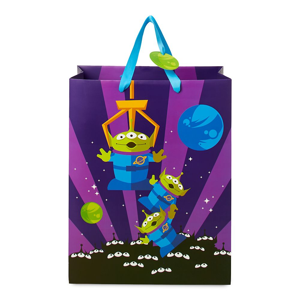 Toy Story Aliens Deluxe Gift Bag  Medium Official shopDisney