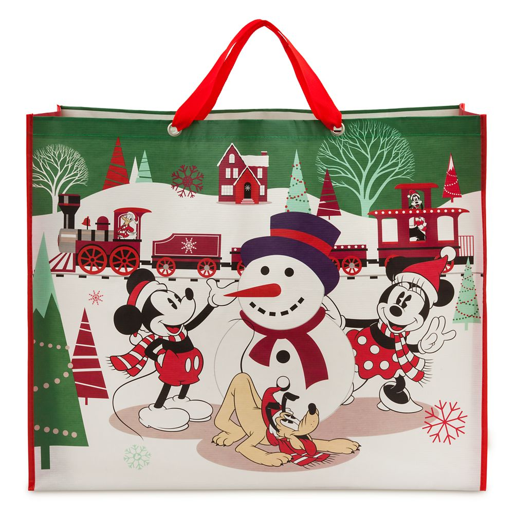 Mickey Mouse and Friends Reusable Holiday Tote – Extra Large