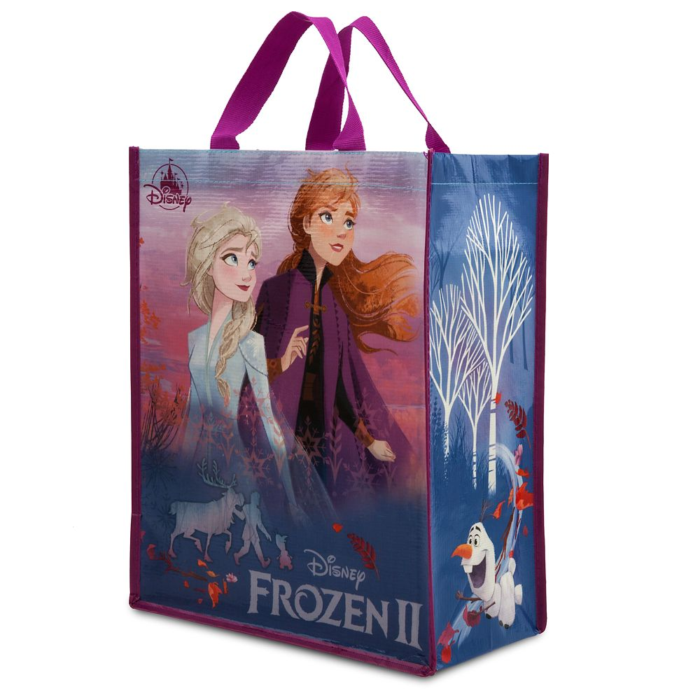 New Disney REUSABLE Frozen TOTES GIFT BAGS Anna Princess Elsa