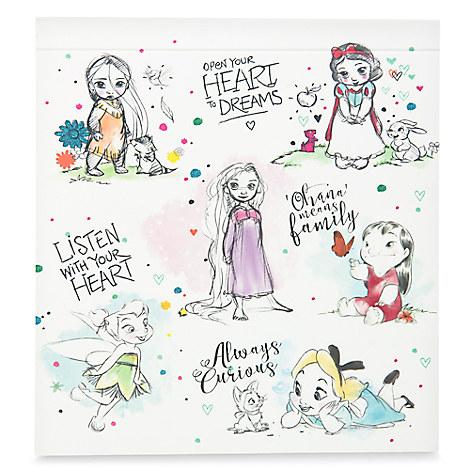 Disney Animators' Collection Postcard and Paint Set
